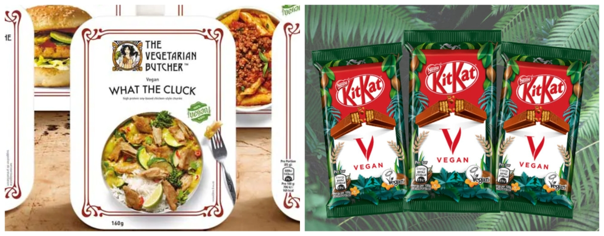 The Vegetarian Butcher and Vegan KitKat