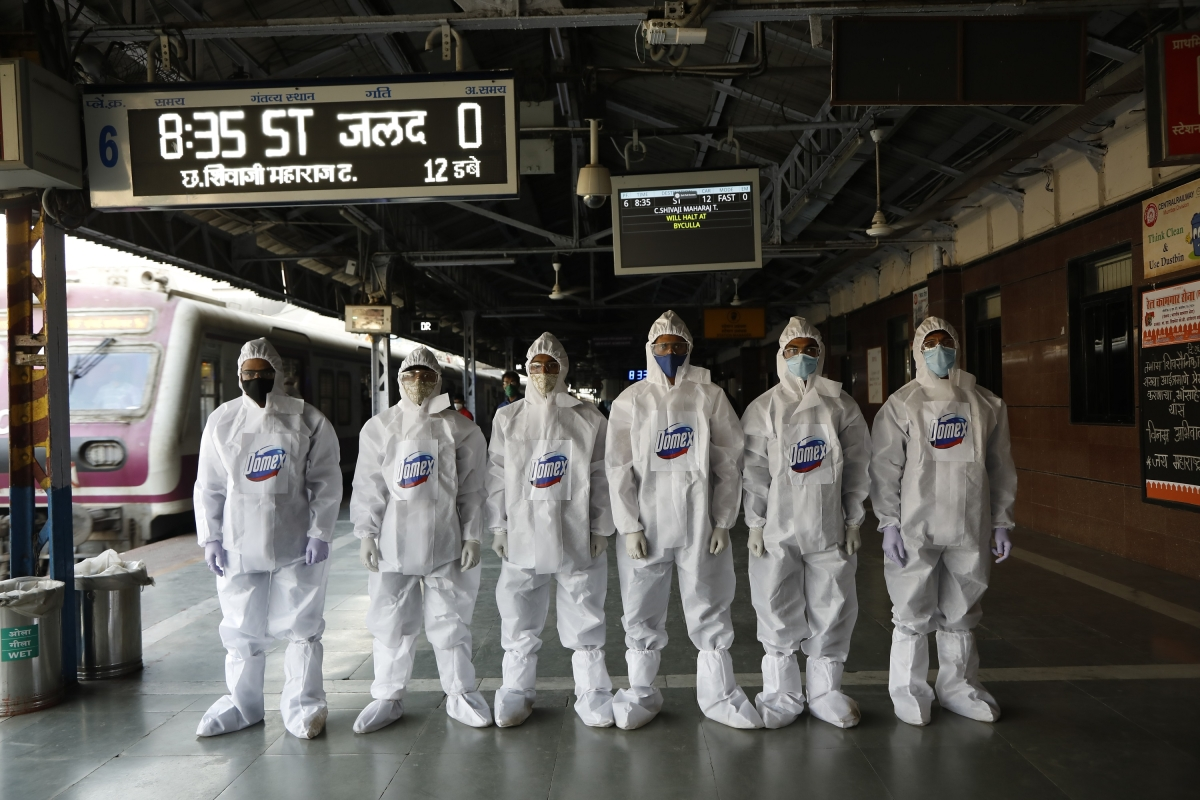 Domex safeguards public safety with month-long disinfection campaign at Mumbai Local stations