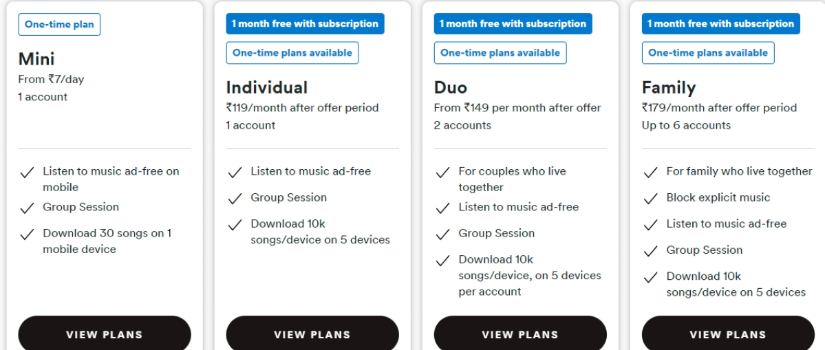 Spotify looks to expand its subscriber base with shorter affordable plans