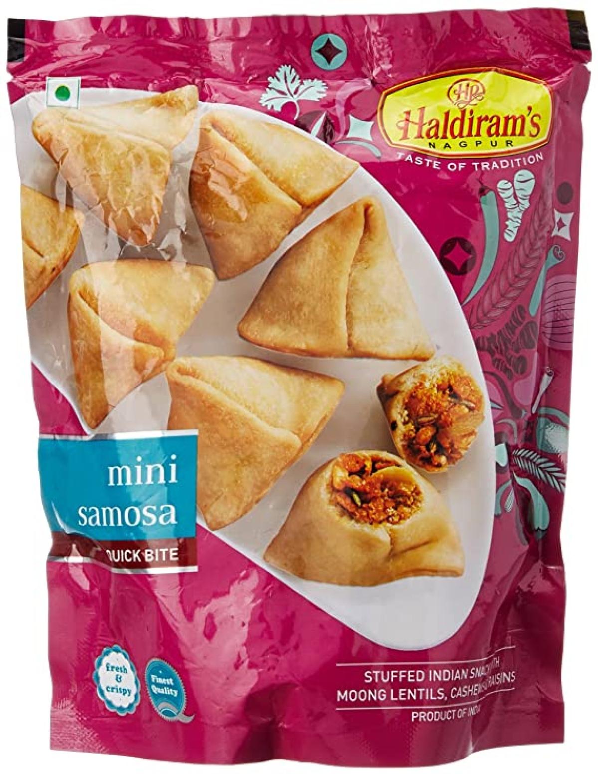 Haldiram's samosas
