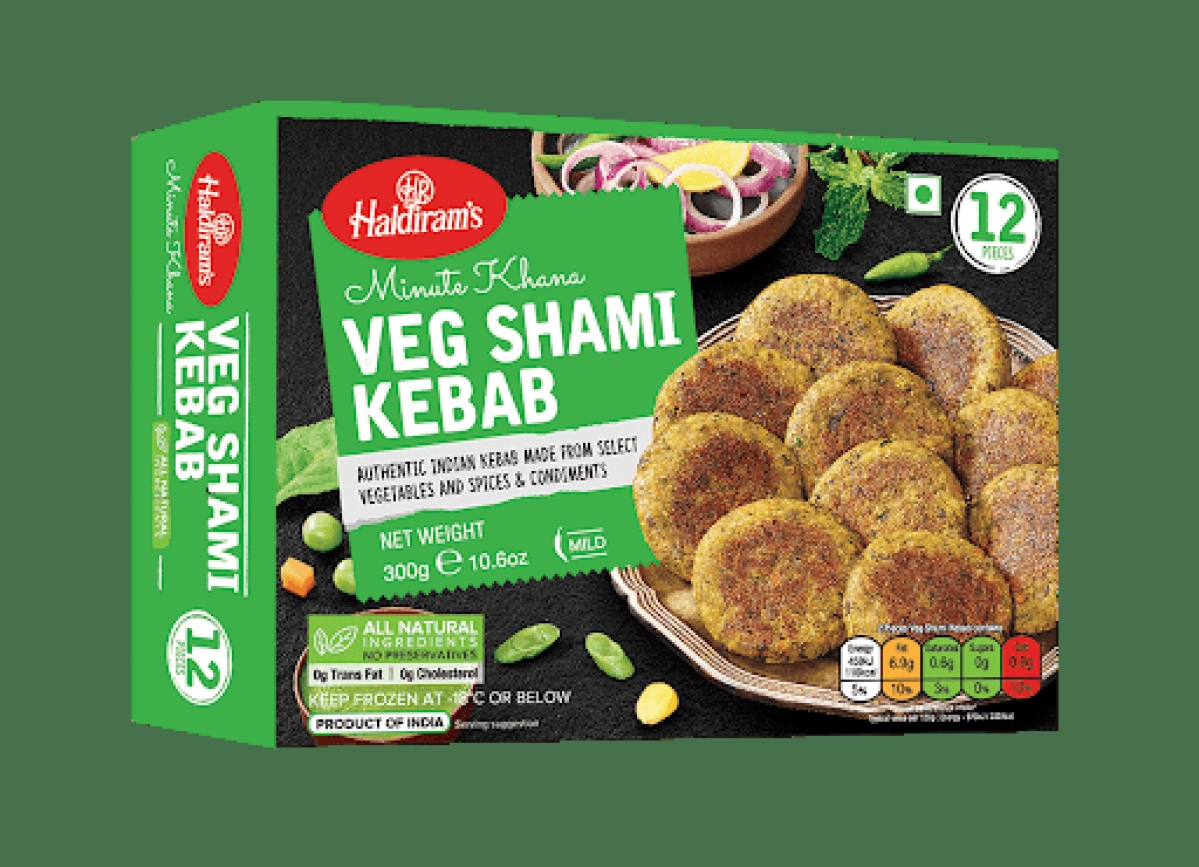 Haldiram's ready to eat kebabs