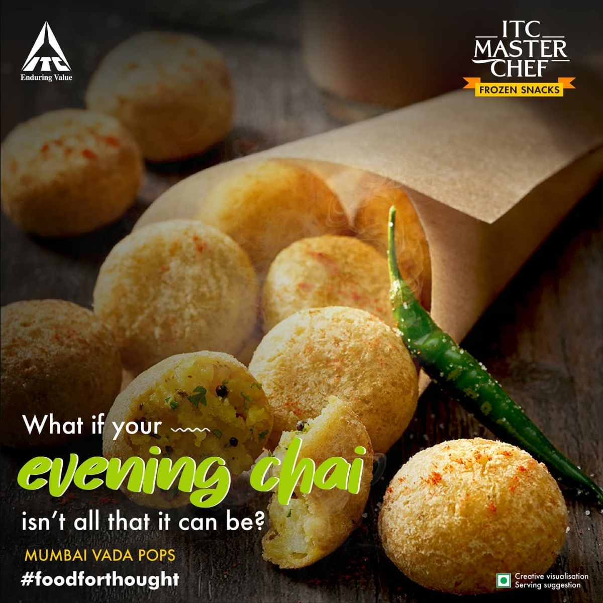 ITC Master Chef's ready to cook Vada pops