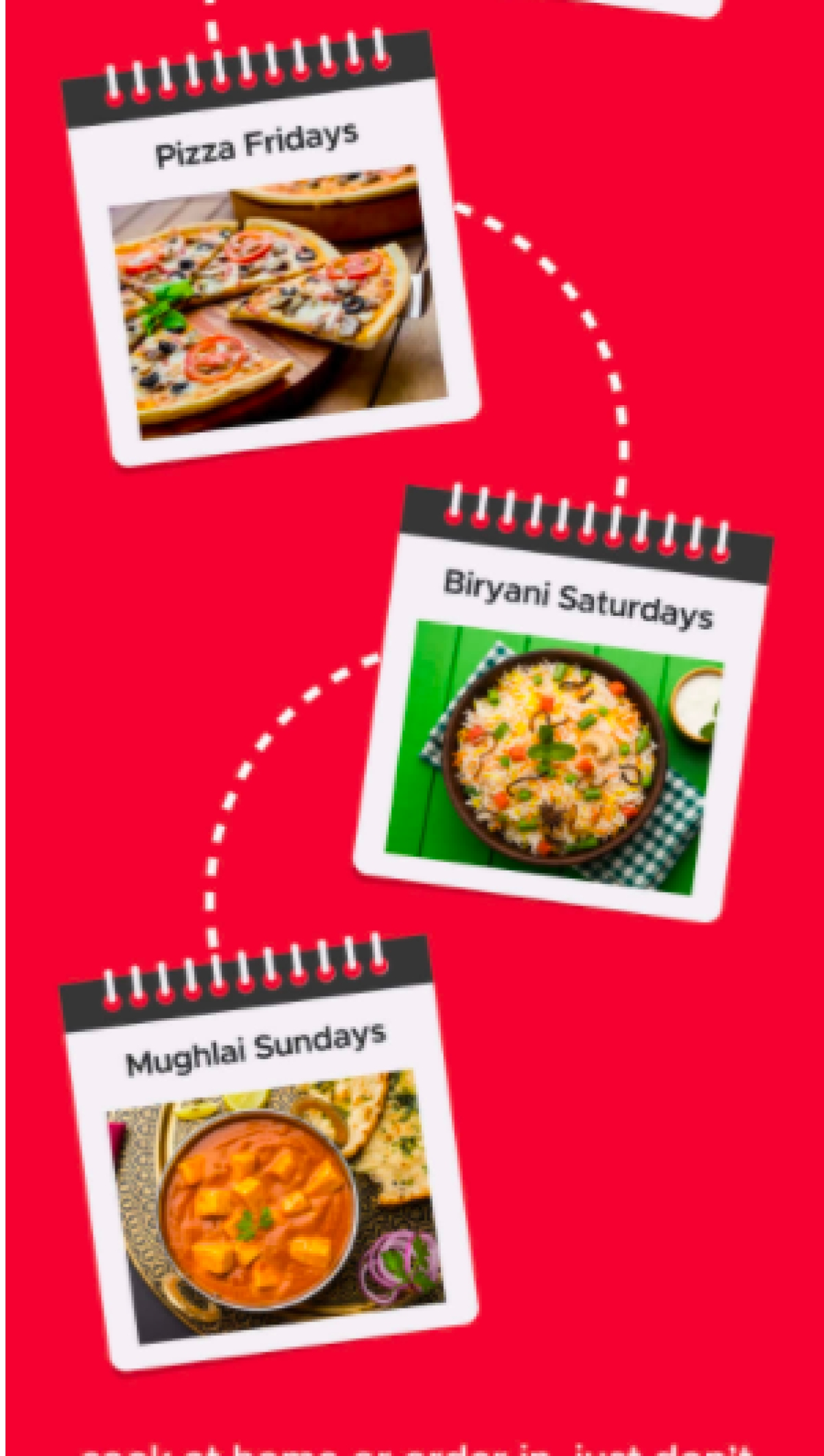 Zomato's latest mailer campaign attempts to solve the world's most difficult question...