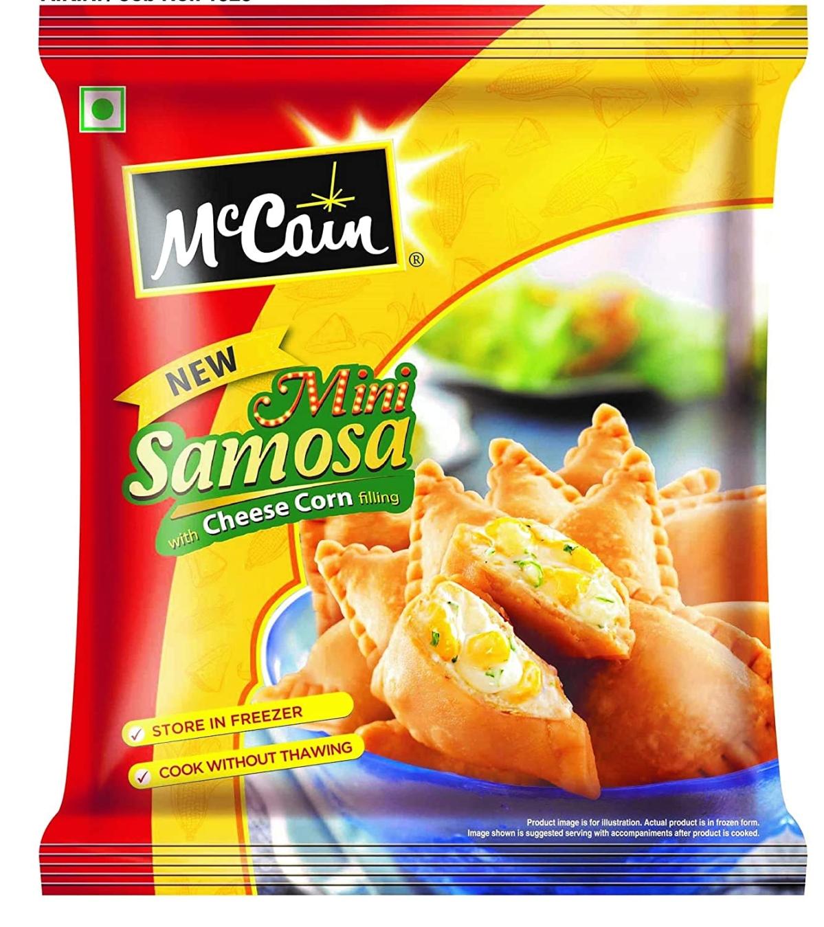 McCain ready to cook samosa