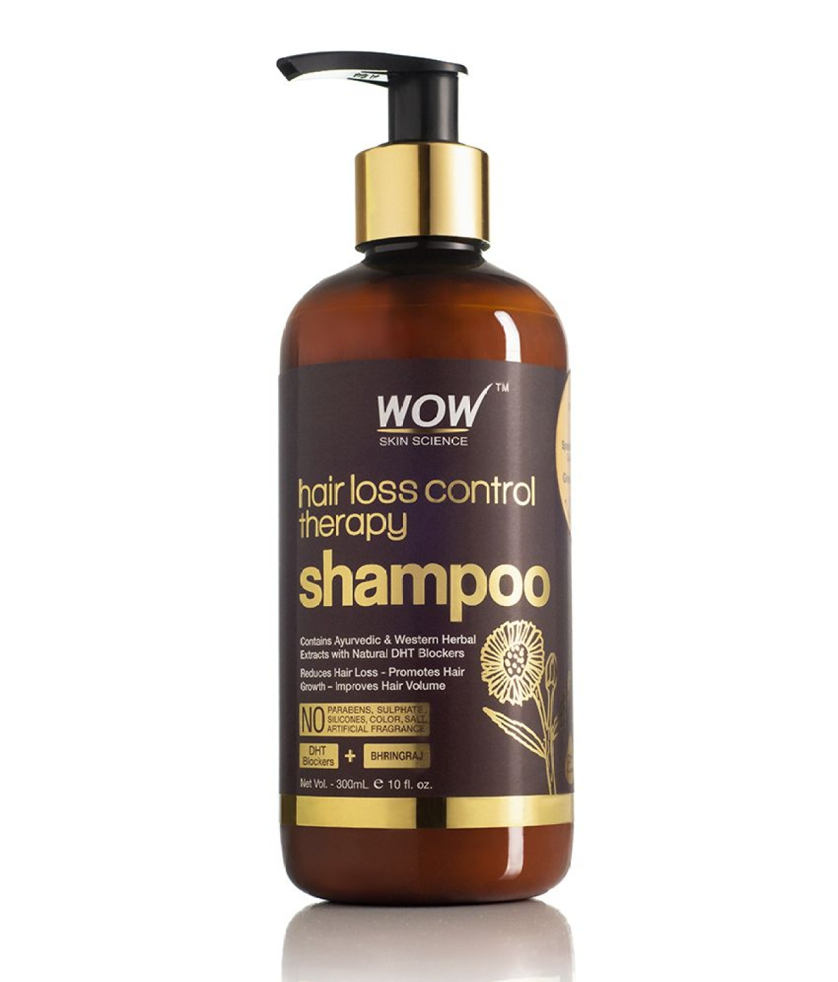 Wow's hair loss control therapy shampoo