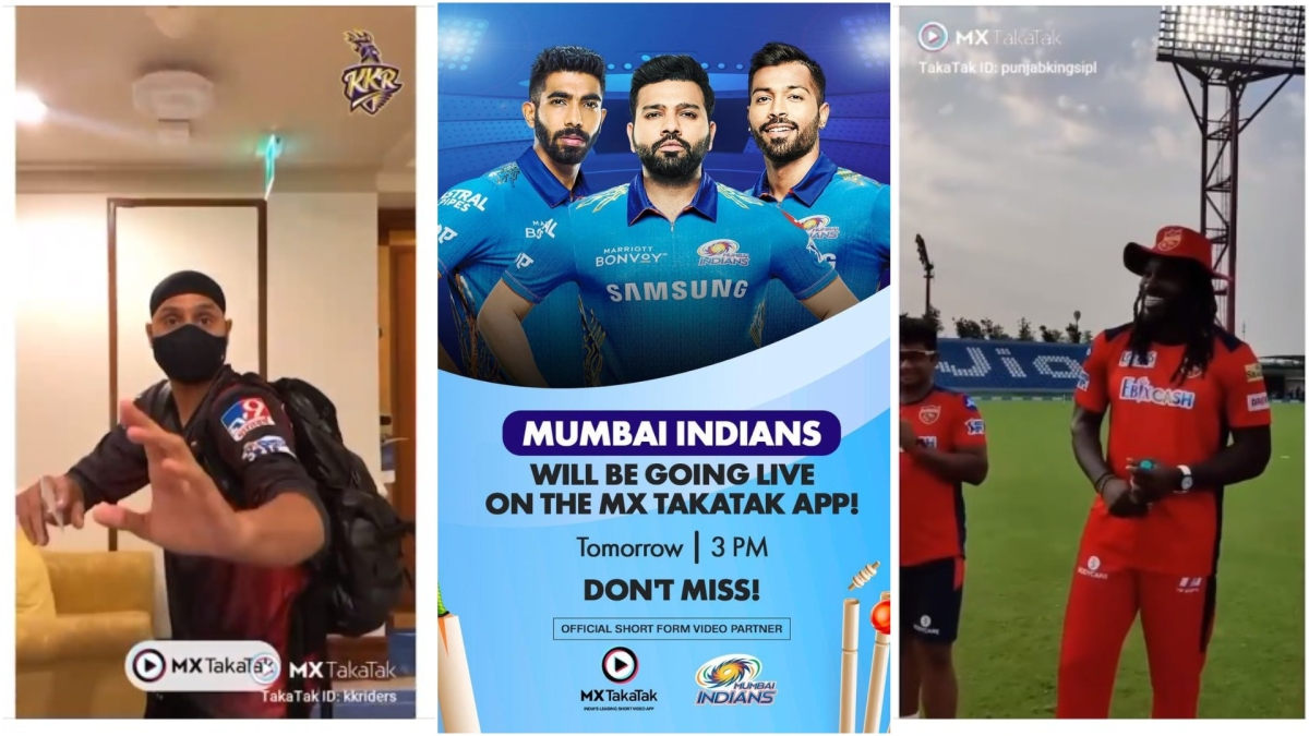 What is MX TakaTak trying to get out of the association with seven IPL teams?