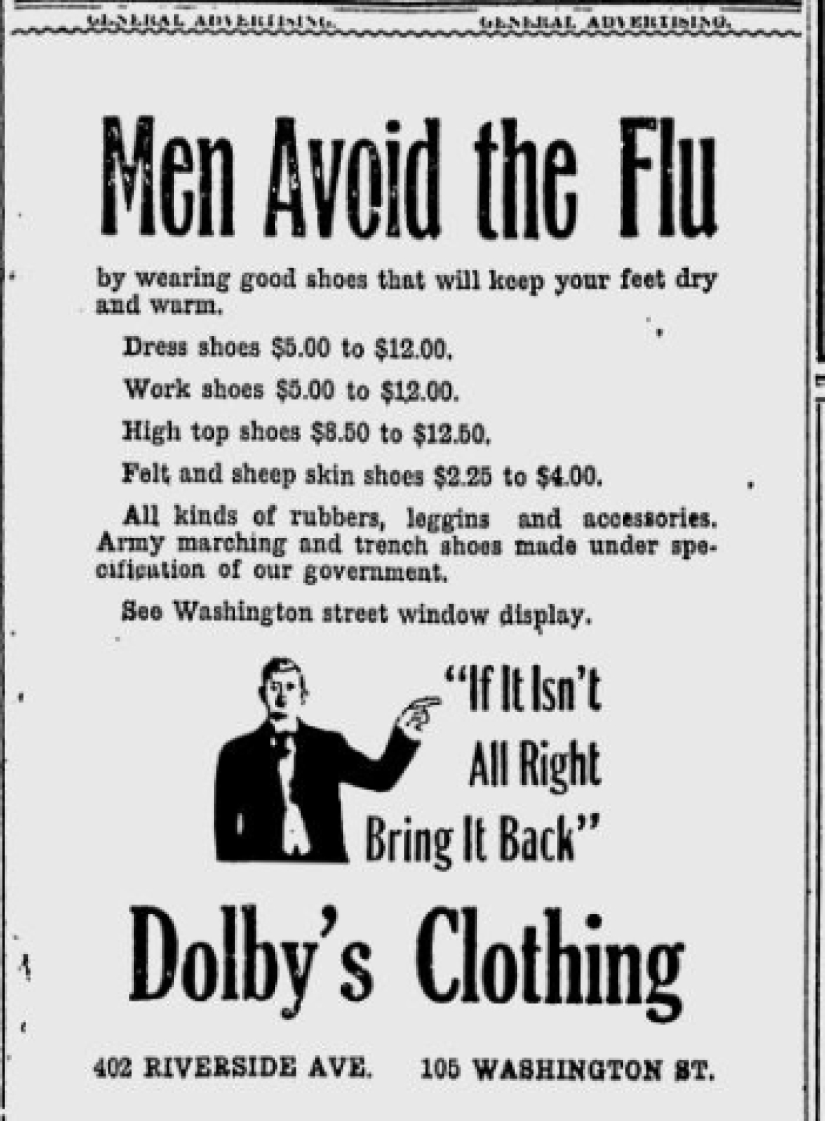 Dolby's Clothing