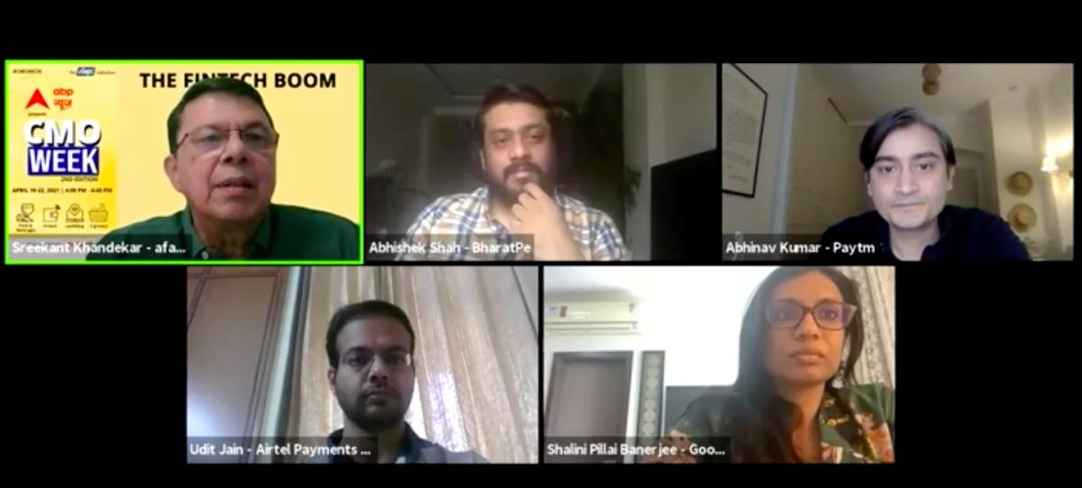(L-R) Sreekant Khandekar, Abhishek Shah, Abhinav Kumar, Udit Jain, Shalini Pillai Bannerjee