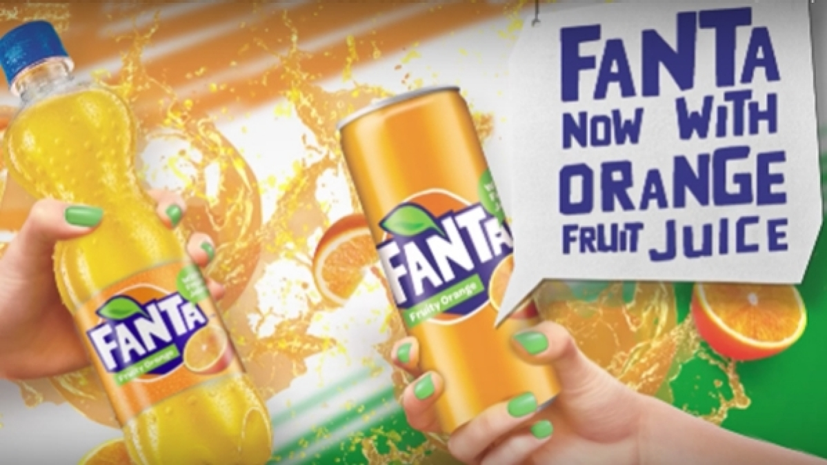 Fanta with improved flavour and taste
