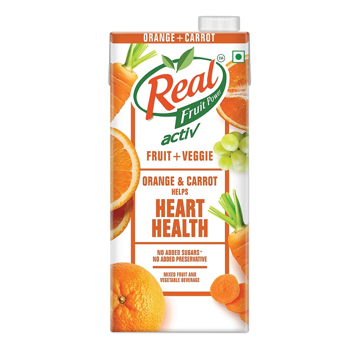 Dabur's Real Activ fruit, veggie juice cartons now say 'gut health', 'heart health', 'immunity boost'