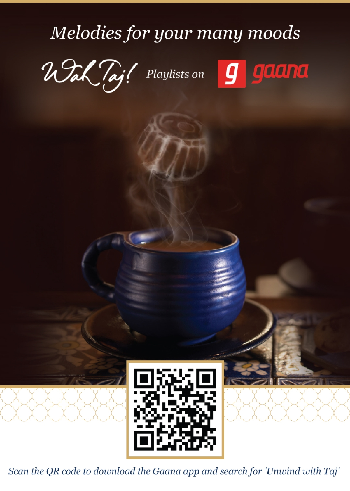 Gaana partners with Taj Mahal tea to create curated Indian classical music playlist
