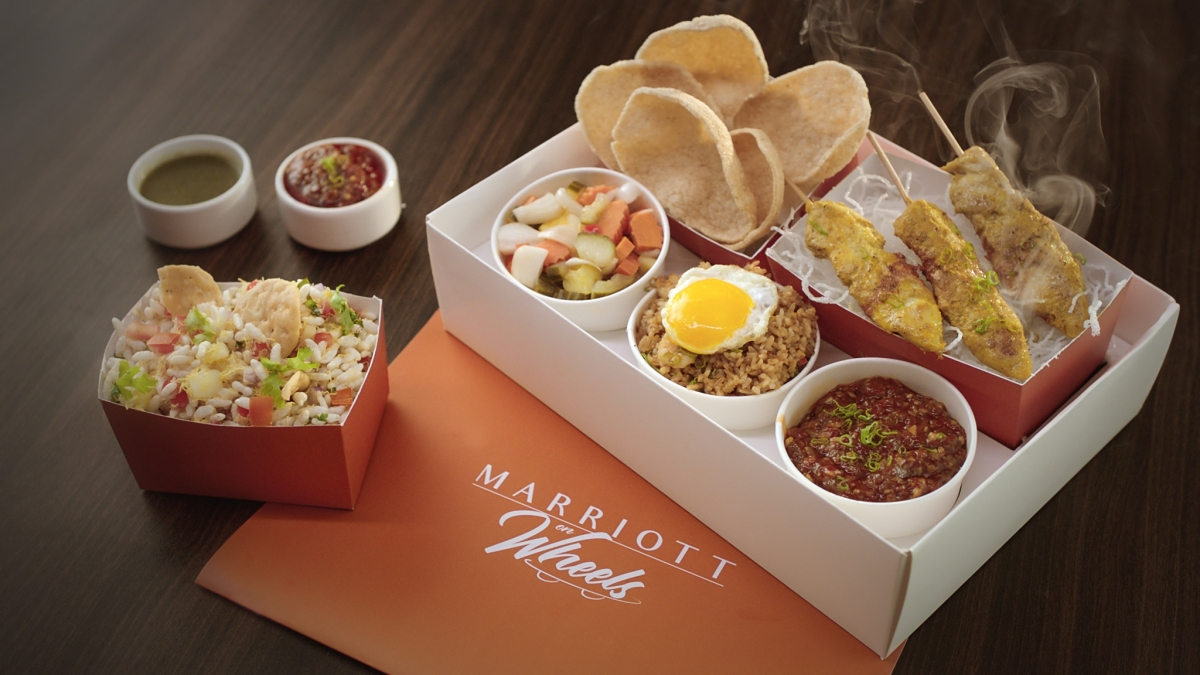 'Marriott on Wheels' delivers new campaign as India begins to lock itself and food delivery sees a sharp spike