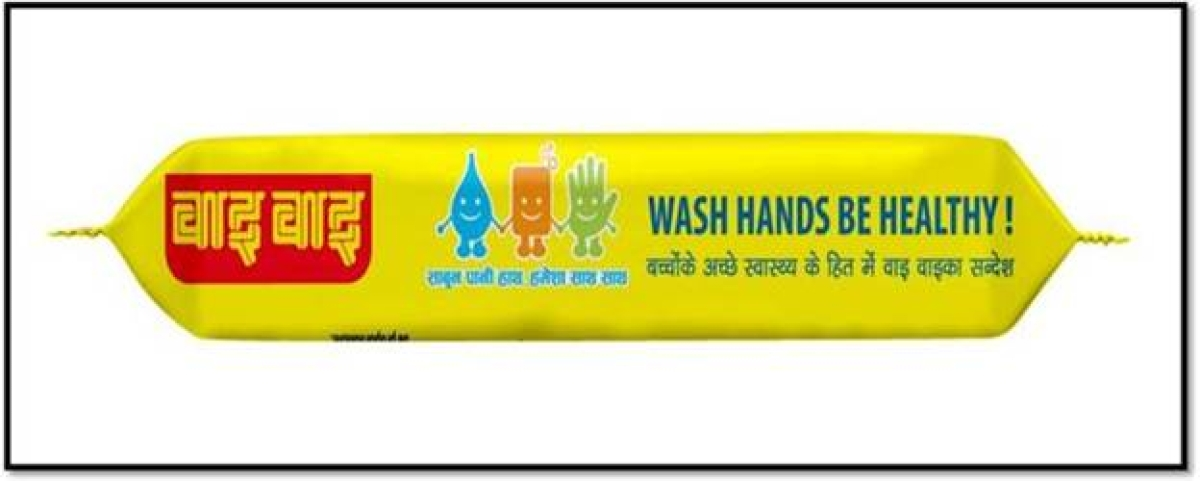 Noodle brand WAI WAI tweaks packaging to carry hand hygiene messages