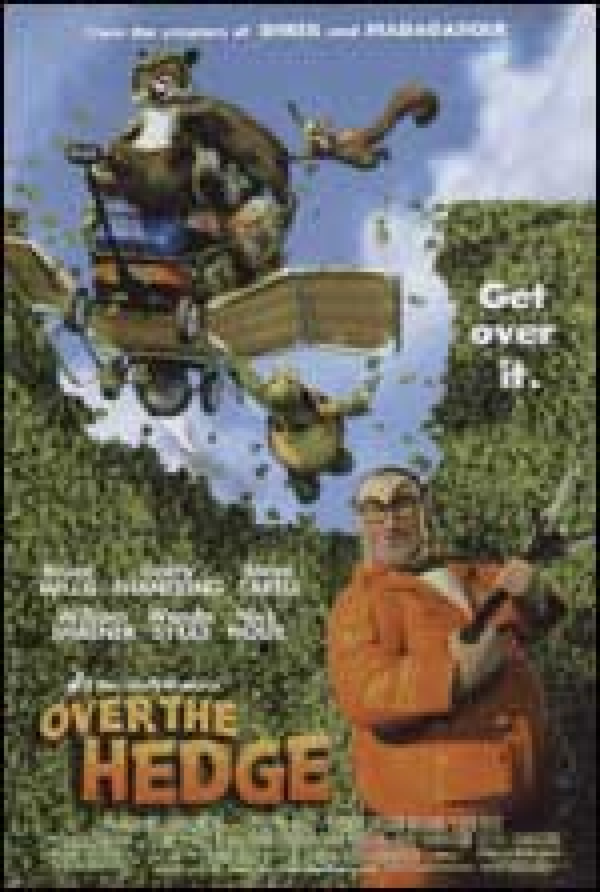 Watch the exclusive TV premiere of the animated family flick 'Over the Hedge' on HBO