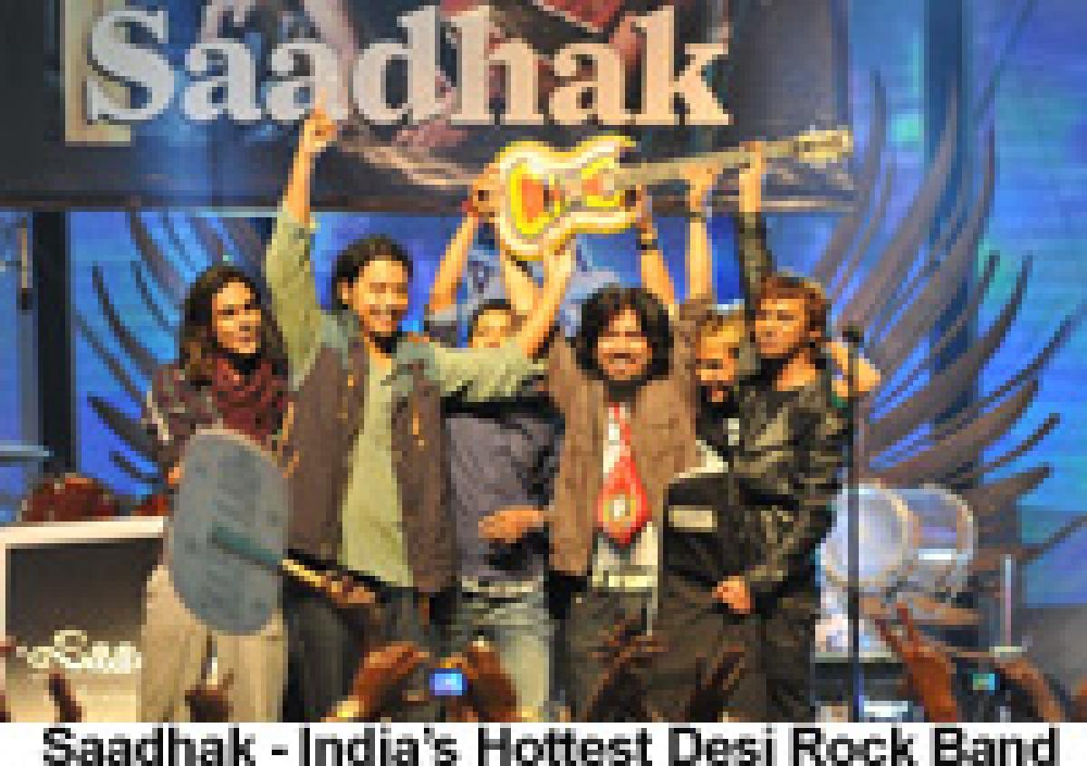 'Saadhak' declared India's Hottest Desi rock band