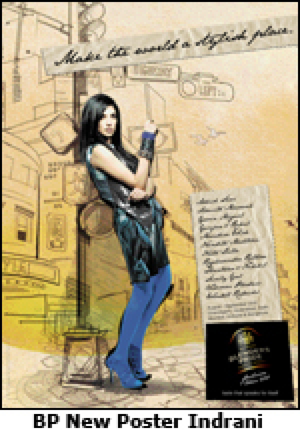 A print campaign to launch and celebrate 6th edition of 'The Blenders Pride Fashion Tour'