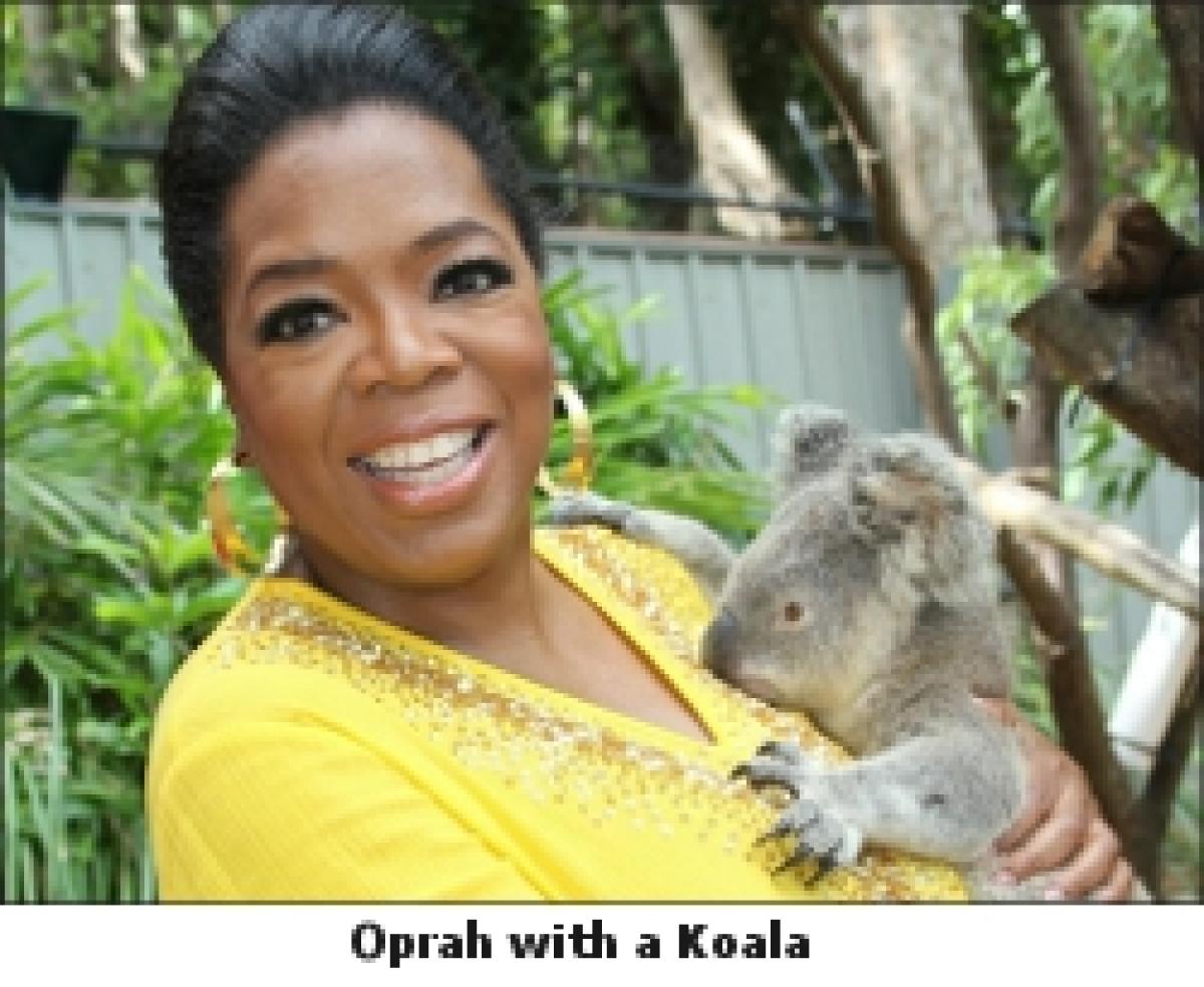 Explore Australia with Oprah Winfrey