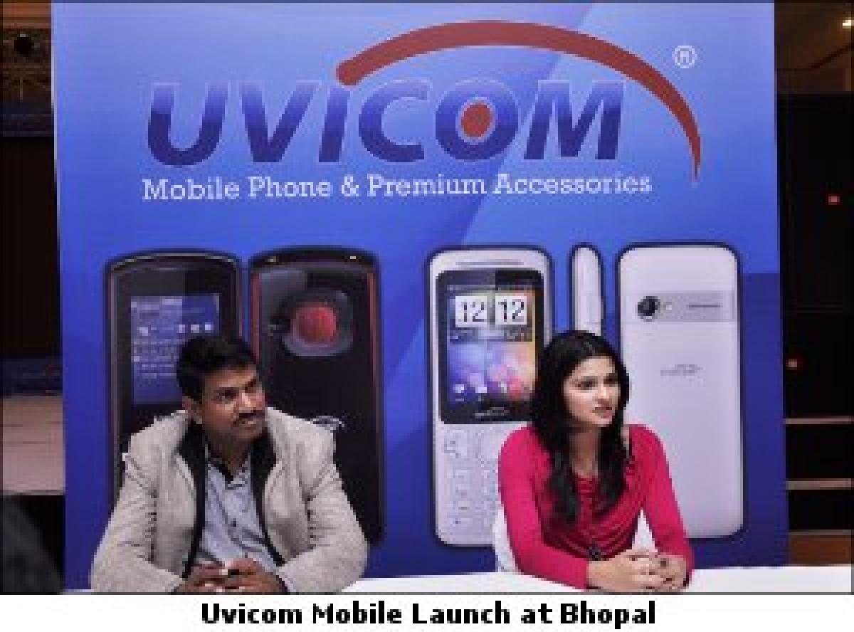 Prachi Desai unveiled 'Uvicom' Mobiles at Bhopal