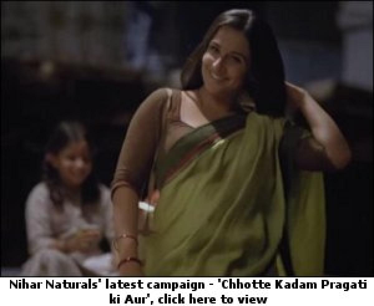 Nihar Naturals empowers women to spark social progress with their latest 'Chhotte Kadam Pragati ki Aur' campaign