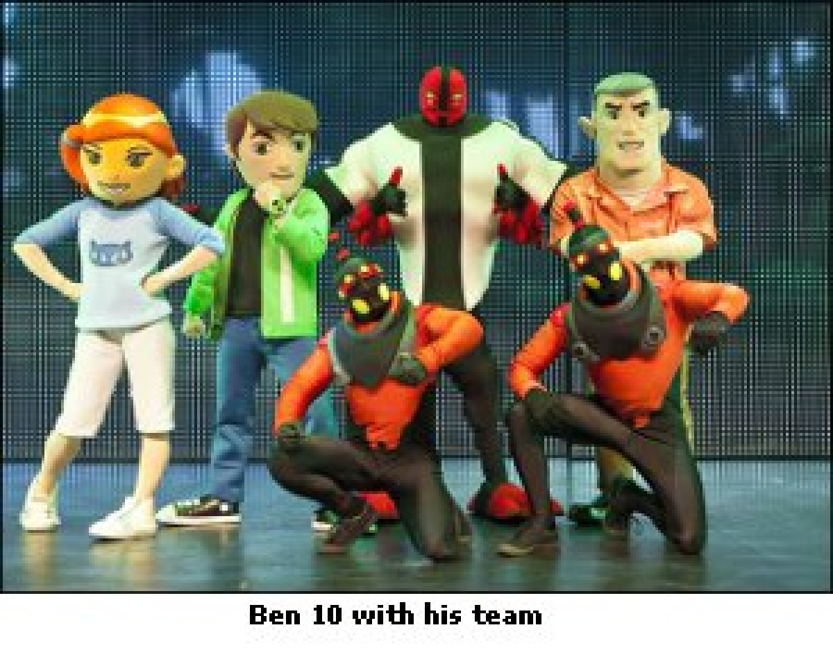 Fever Entertainment brings 'Cartoon Network's Ben 10 Live: Time Machine, 1st time to India