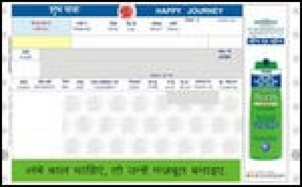 Railways roll out message on a ticket, Axis gets contract