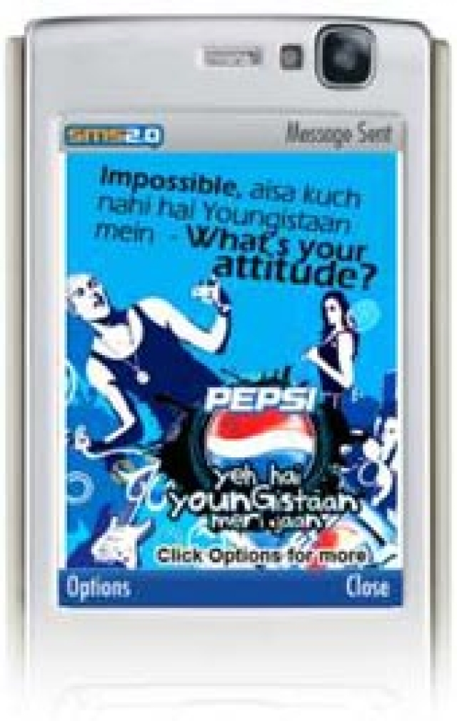 Pepsi uses mobile marketing for Youngistaan campaign