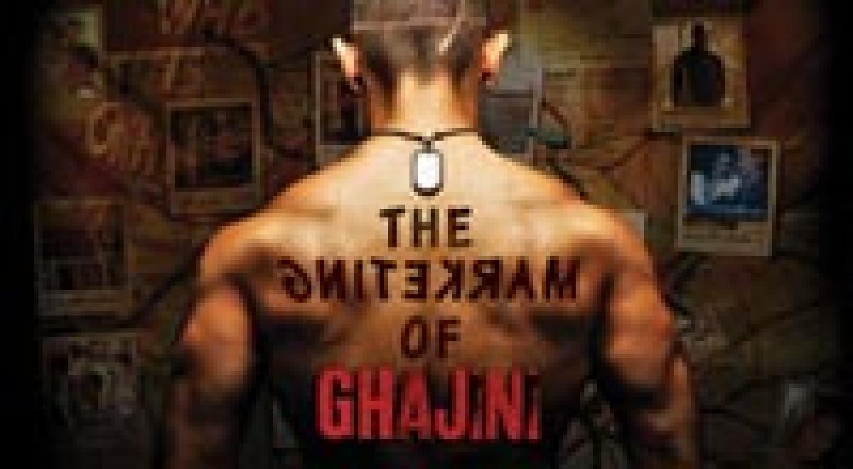 The marketing of Ghajini