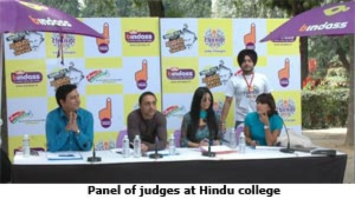 UTV Bindass gets together with college students for street plays