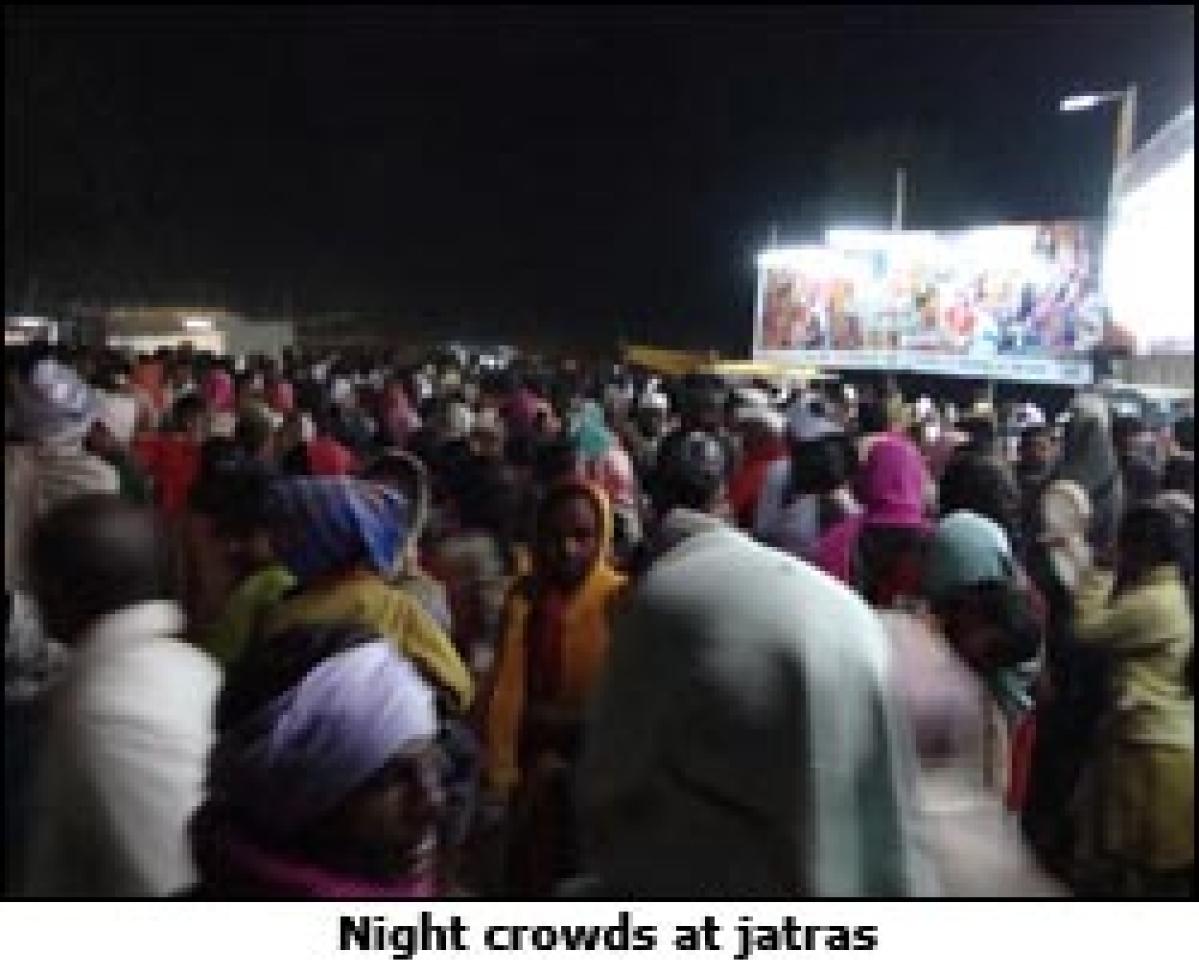 Jatras: Glowing lights in media dark areas