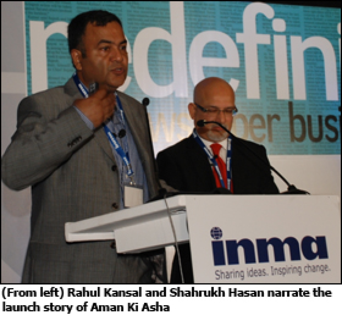 INMA 4th Annual Conference: A 'brand' new look at Aman Ki Asha