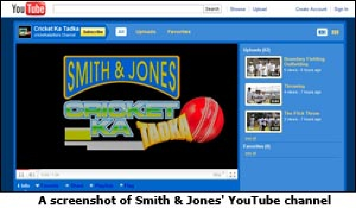 Smith & Jones' digital adventure with cricket