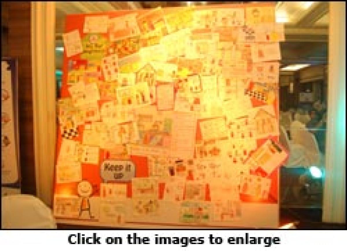 HP Gas talks to moms through kids via Art for Awareness