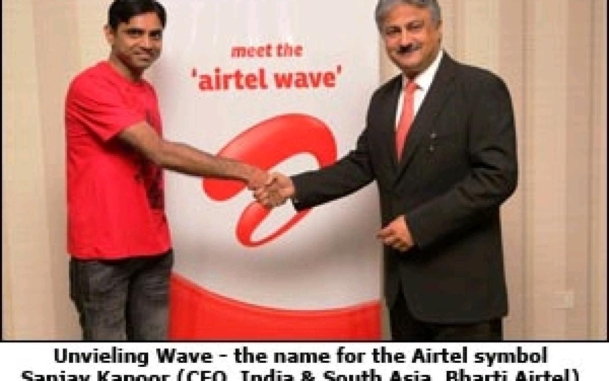 Brand Airtel brands its logo