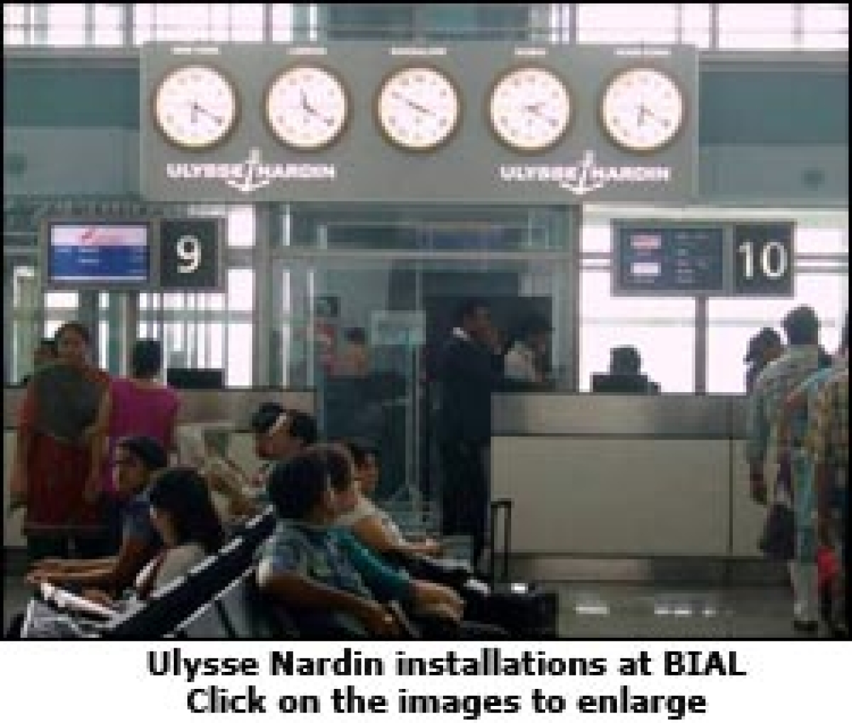 'It's time', says Swiss watch brand Ulysse Nardin at Bengaluru Airport