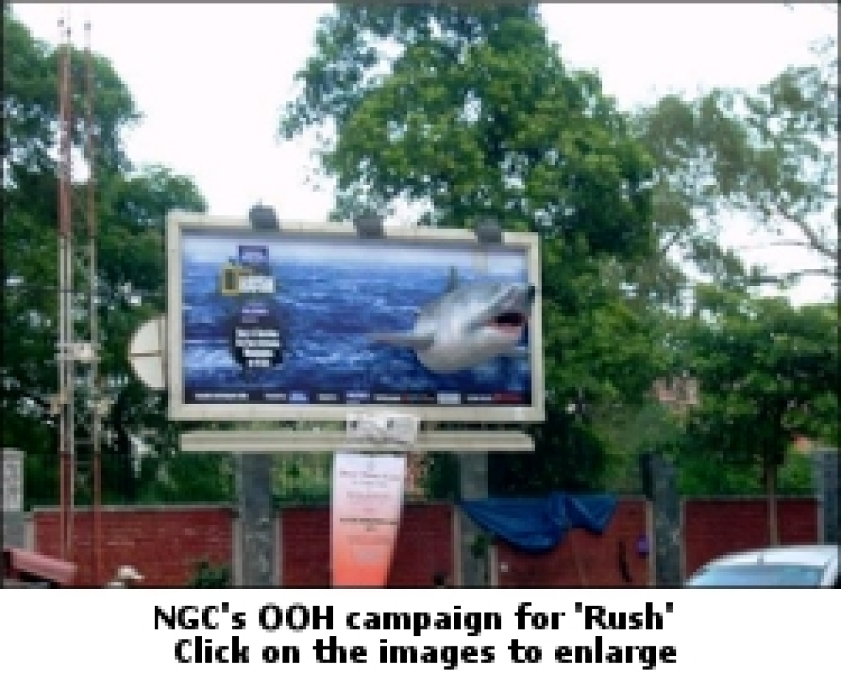 National Geographic creates 3D innovative outdoor campaign for 'Rush'