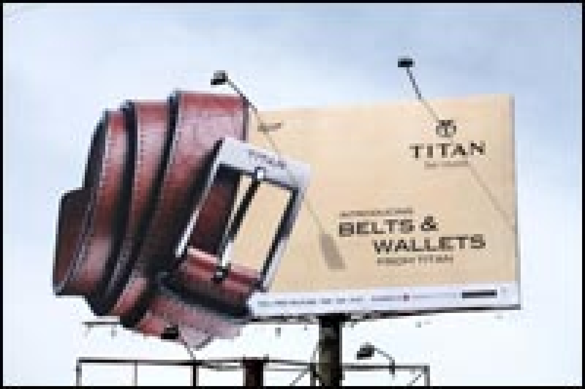 Titan adds crunch to the OOH campaign with a 'Crunched Billboard'