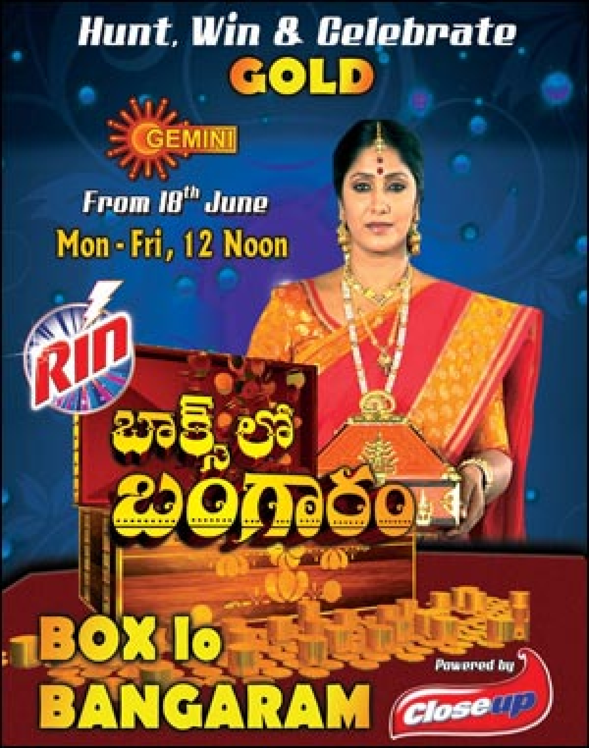 'Boxlo Bangaram' helps Gemini TV increase gap with competition during the afternoons