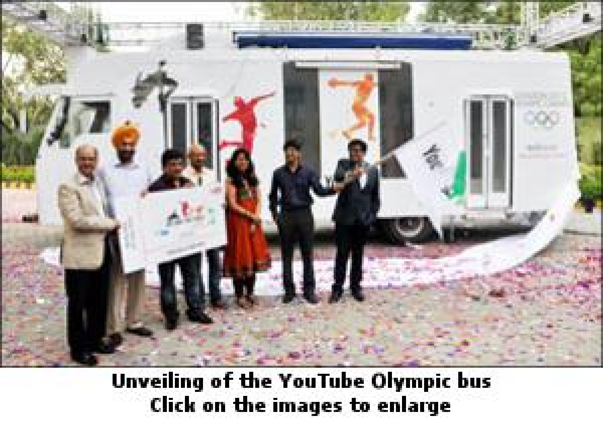 YouTube Bus: Olympics on the go