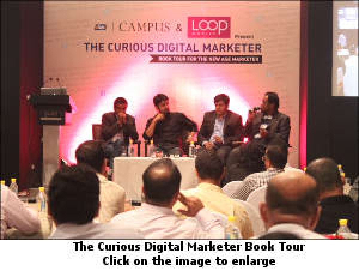 afaqs! Campus hosts book tour for 'The Curious Digital Marketer'