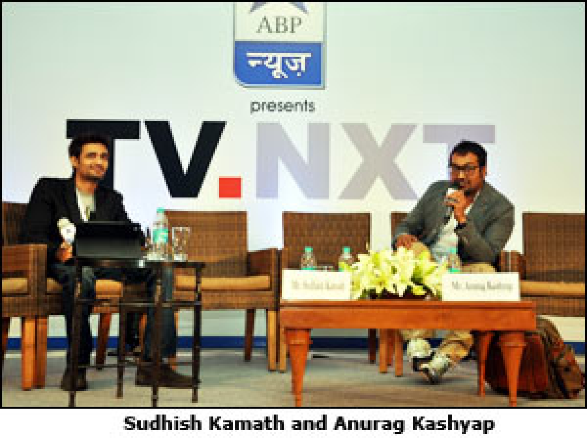 TV.NXT 2012: To me, the dirty word 'adult' means someone who could think for himself: Anurag Kashyap