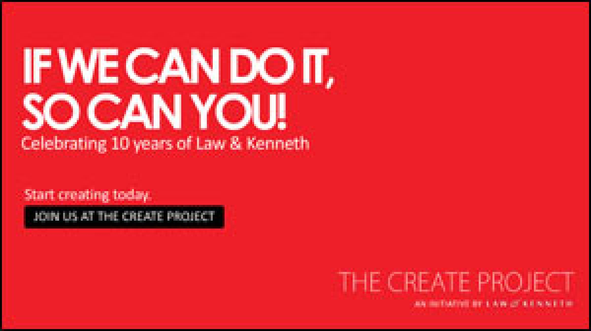 Law & Kenneth India launches The Create Project