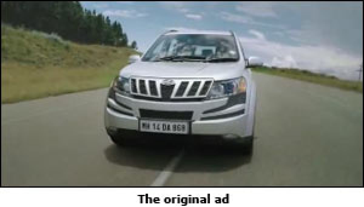 Mahindra changes ad after digital feedback