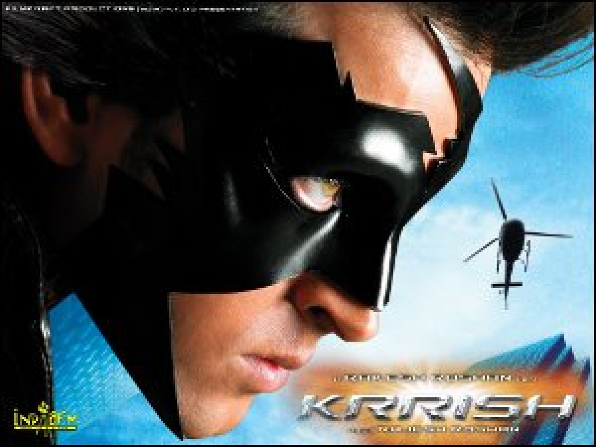 Krrish, younger and animated