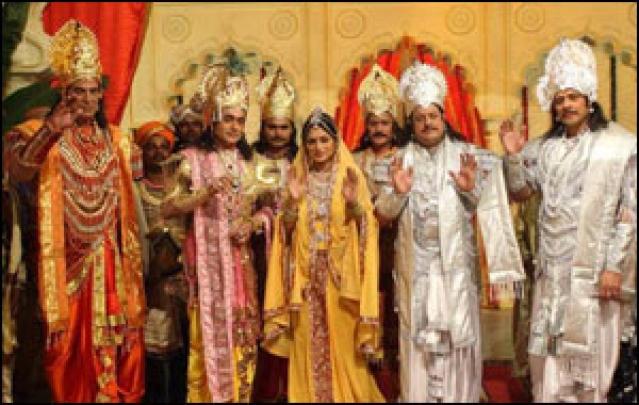 From Ramayan to Jodha Akbar: Weaving a fantasy