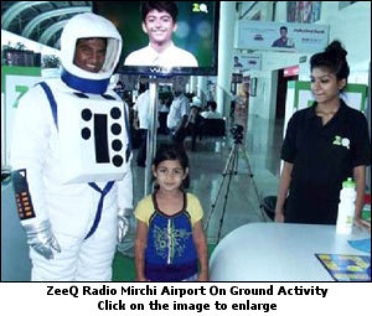 ZeeQ brings scientists and astronauts at Mumbai Airport