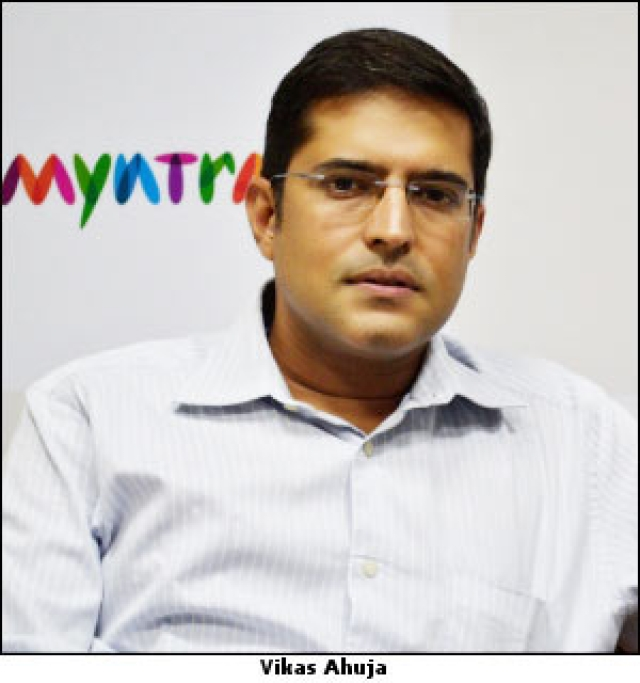 Myntra gets Vikas Ahuja as CMO