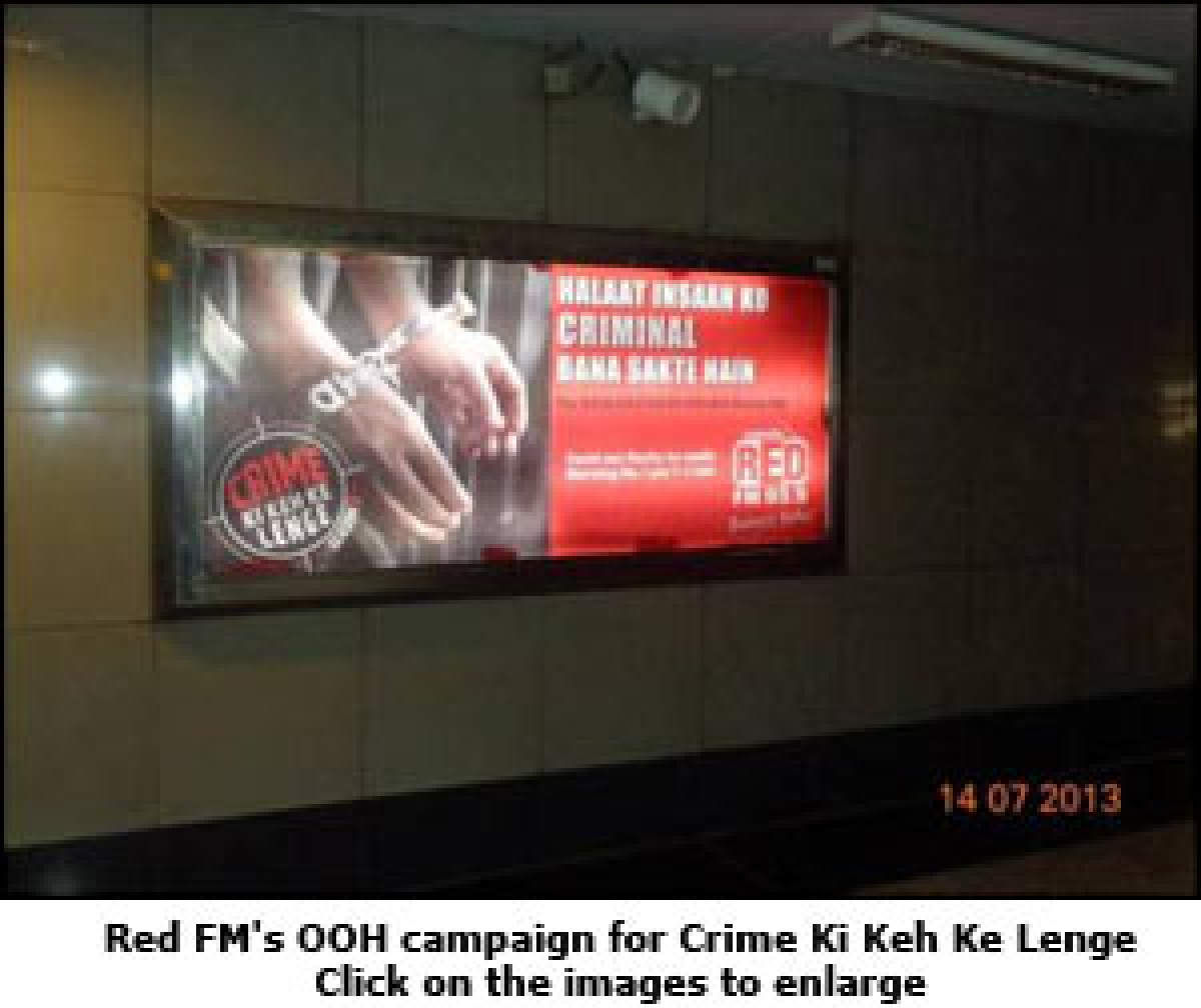 Red FM attacks crime for the second time