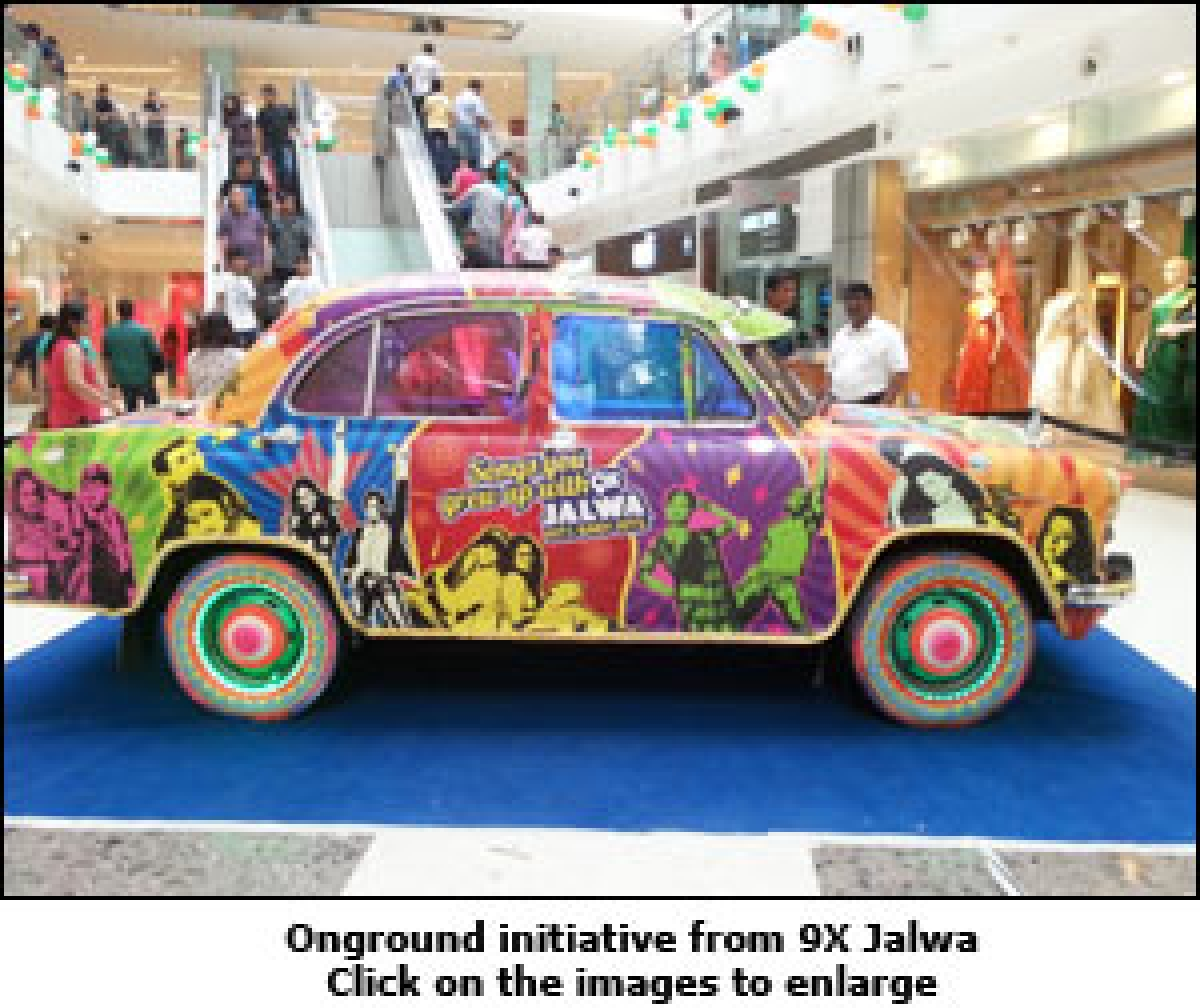 9X Jalwa flaunts Ambassador for engagement