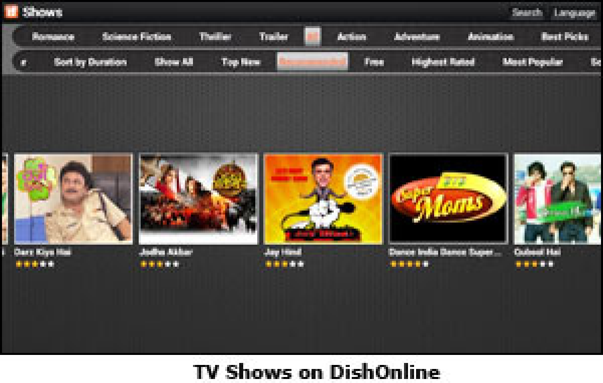Dish TV launches video streaming app, DishOnline