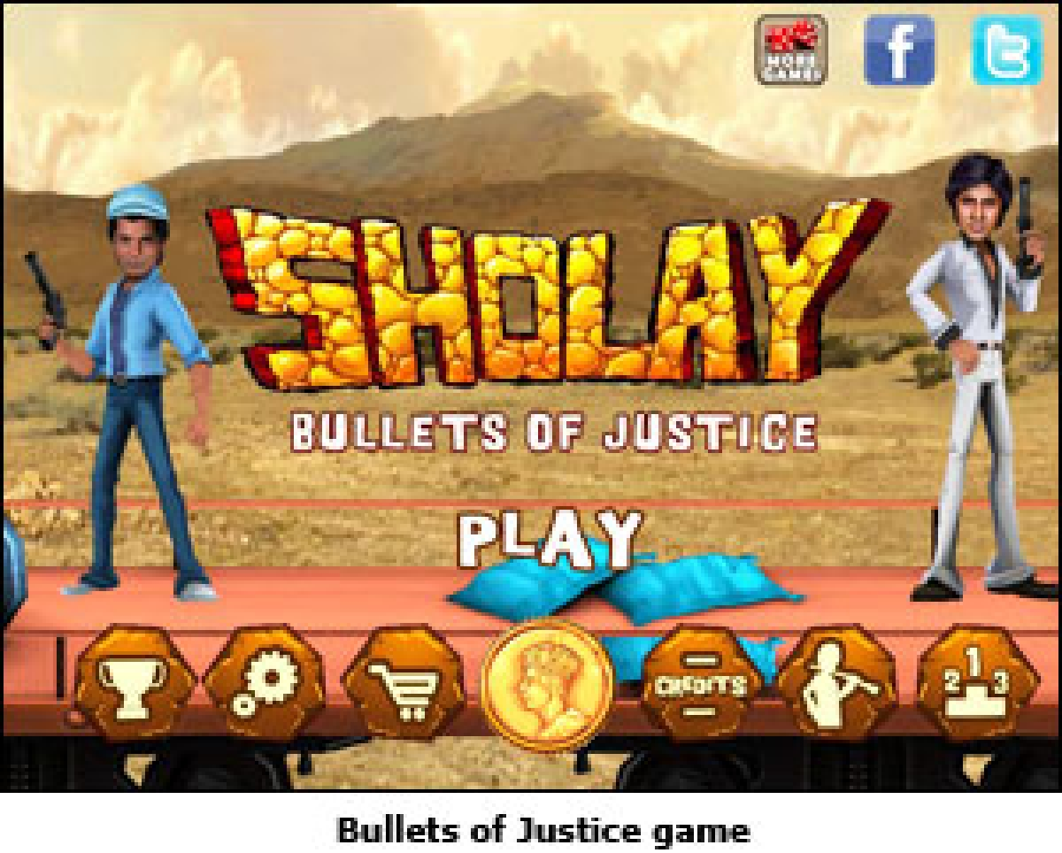 Bullets of Justice to promote Sholay 3D